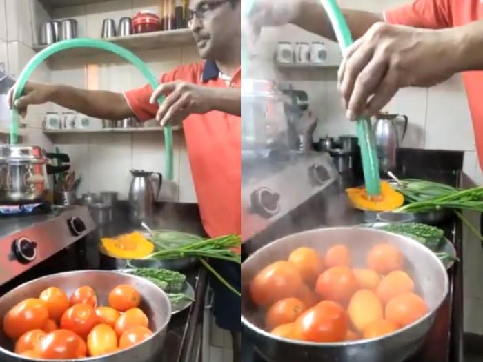Cara membersihkan sayuran