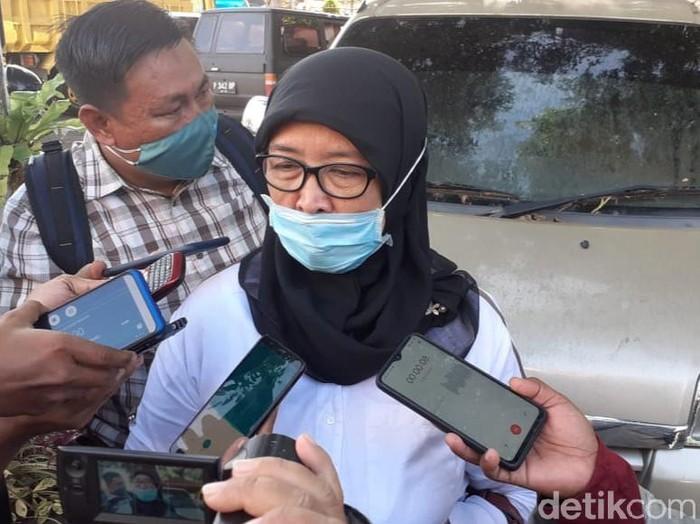 Direktur RSUD Blambangan dr Indah Sri Lestari