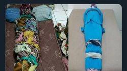 Seks Bungkus-membungkus Mirip Fetish Kain Jarik Terbukti Bikin Mati