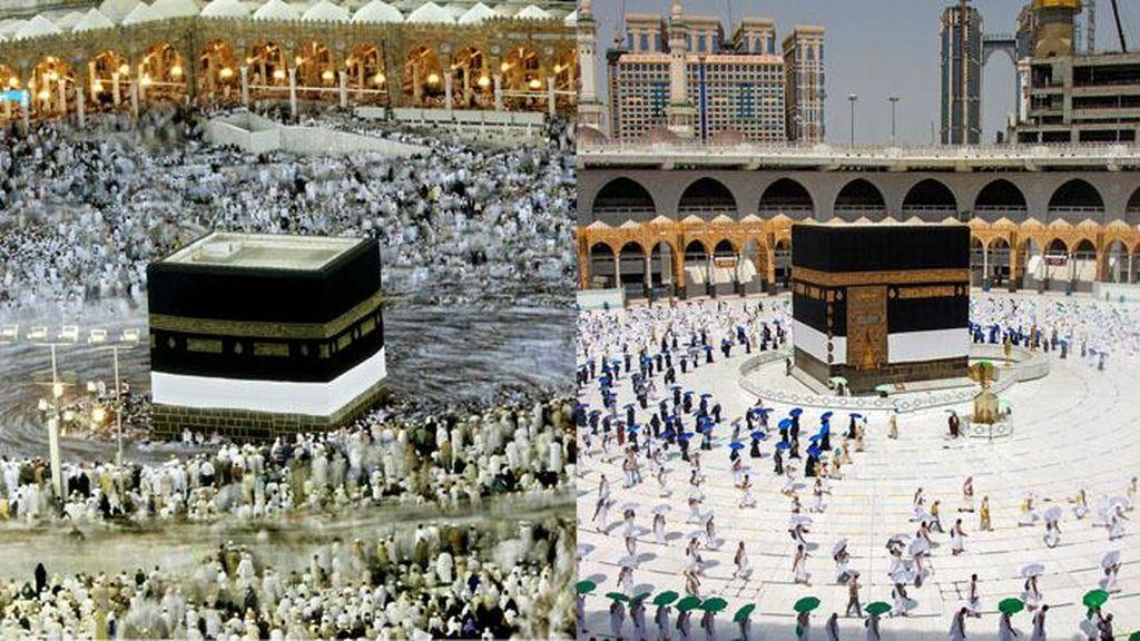 Potret Ibadah Haji Sebelum dan Saat Pandemi Corona