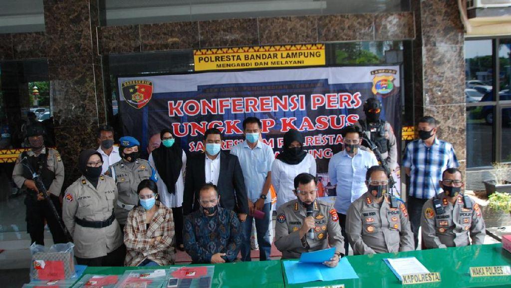 Polisi: Pemesan Vernita Syabilla Bukan Pengusaha Besar, Asli Lampung