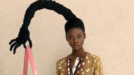 Viral karena Rambut Dibentuk bak Patung, Wanita Ini Jadi Model Marc Jacobs