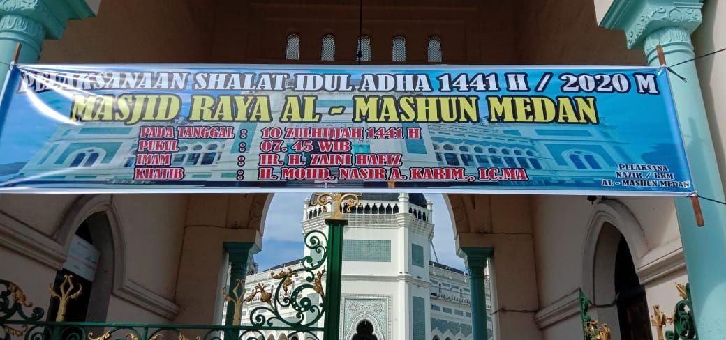 Masjid Raya Medan (Ahmad Arfah-detikcom)