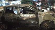Mobil Terbakar di Lampu Merah Jembatan 2 Jakbar, Tak Ada Korban