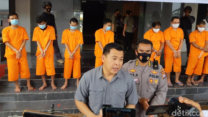 Polda Banten ungkap penyelundupan ganja 159 kg