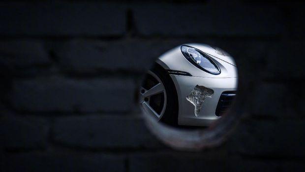 Porsche 911 karya seniman Arsham