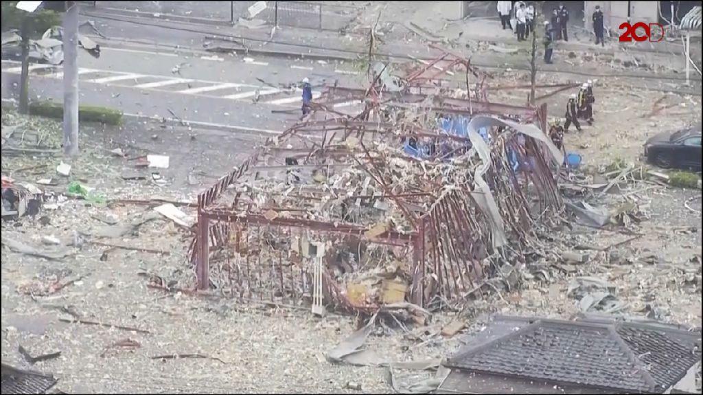 Restoran di Jepang Hancur Gegara Ledakan Gas