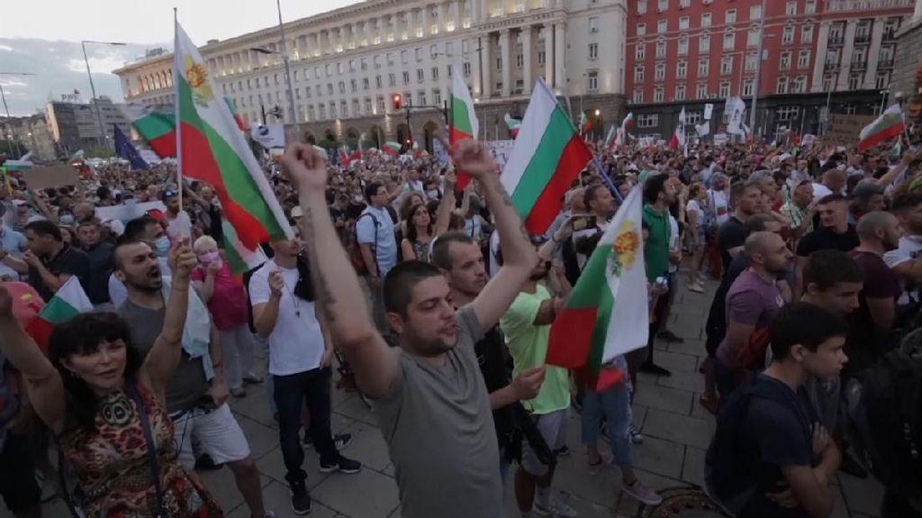Ribuan Warga Demo Menentang Pemerintah Bulgaria