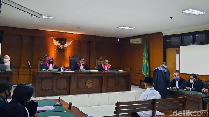 Sidang tuntutan pembina Pramuka Isfan Yoppy terdakwa kasus tragedi susur Sungai Sempor Sleman