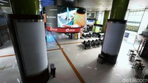 Stasiun Gambir Masih Lengang Jelang Idul Adha
