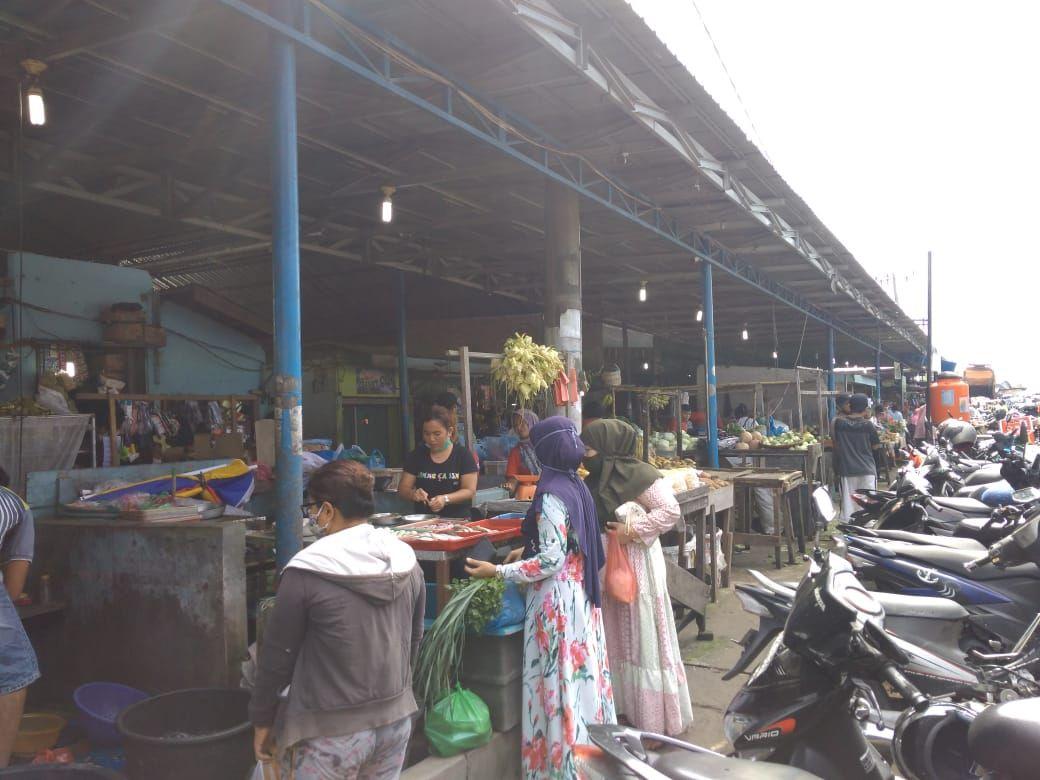 Suasana di Pasar Sembada (Datuk Haris-detikcom)