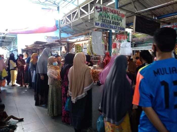 Suasana di Pasar Setia Budi Medan (Datuk Haris Molana-detikcom)