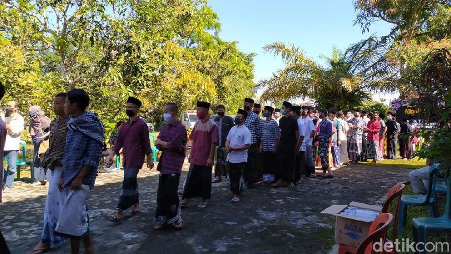 Susana Rumah Duka Sastrawan Ajip Rosidi di Magelang, Jawa Tengah