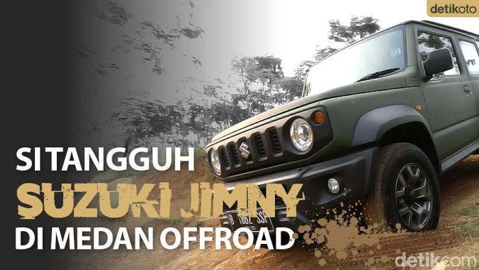 Tangguhnya Jimny di Medan Offroad