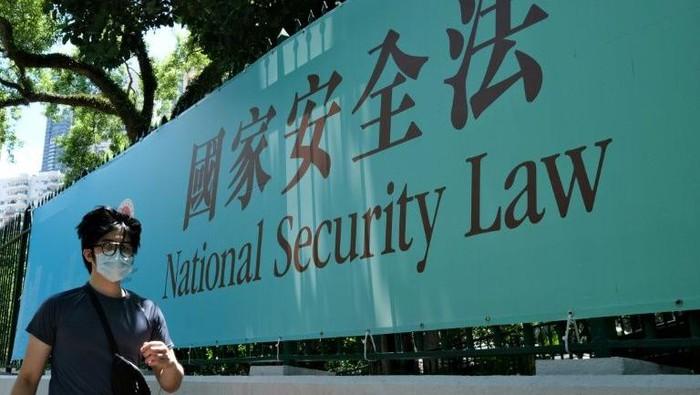 UU Keamanan Nasional Hong Kong (AFP Photo)