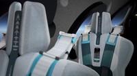 Selain bangku yang nyaman, setiap penumpang juga memiliki sistem komunikasi pribadi yaang terintegrasi dan memberi mereka akses langsung ke dua pilot luar angkasa. (Virgin Galactic)