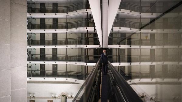 Menurut Rasim Bajrovic, pemilik dan manajer umum Holiday Hotel, semua pemesanan telah dibatalkan hingga 2021. AP Photo/Kemal Softic