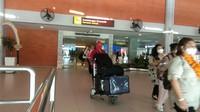 Terlihat antusiasme wisnus untuk datang liburan ke Bali. (Angga Riza/detikcom)