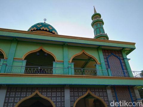Masjid Al Karomah, Demak, Kamis (30/7/2020).