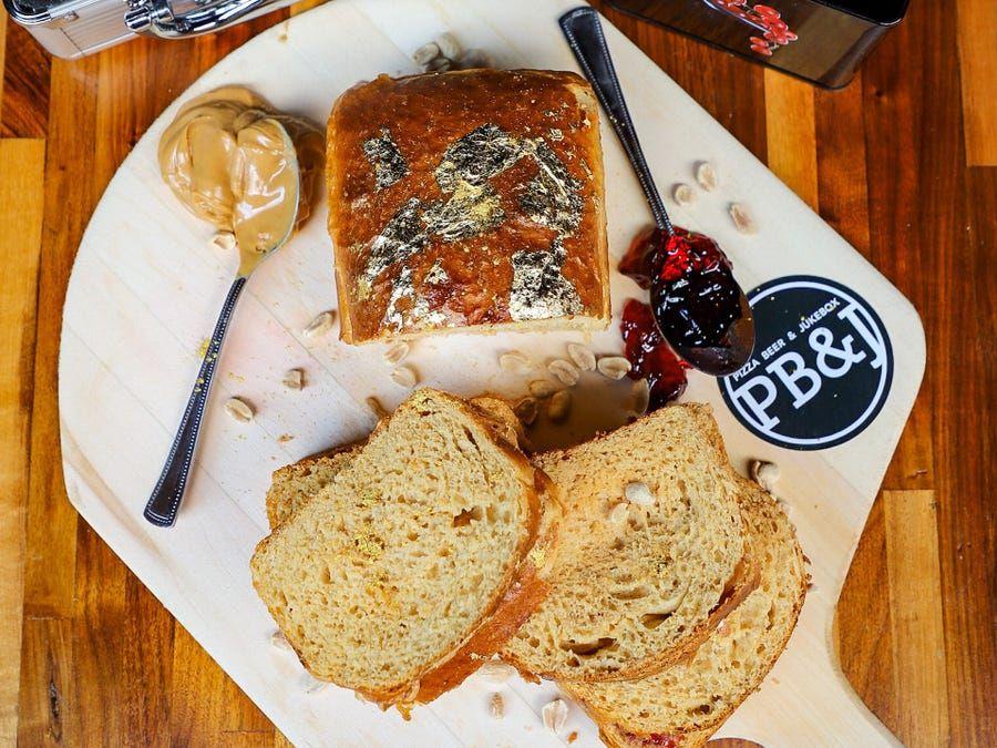 Peanut butter & jelly sandwich termahal di dunia