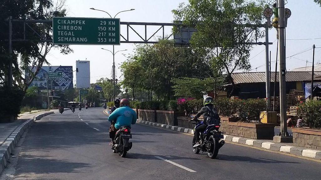 Video Situasi Jalur Perbatasan Bekasi-Karawang