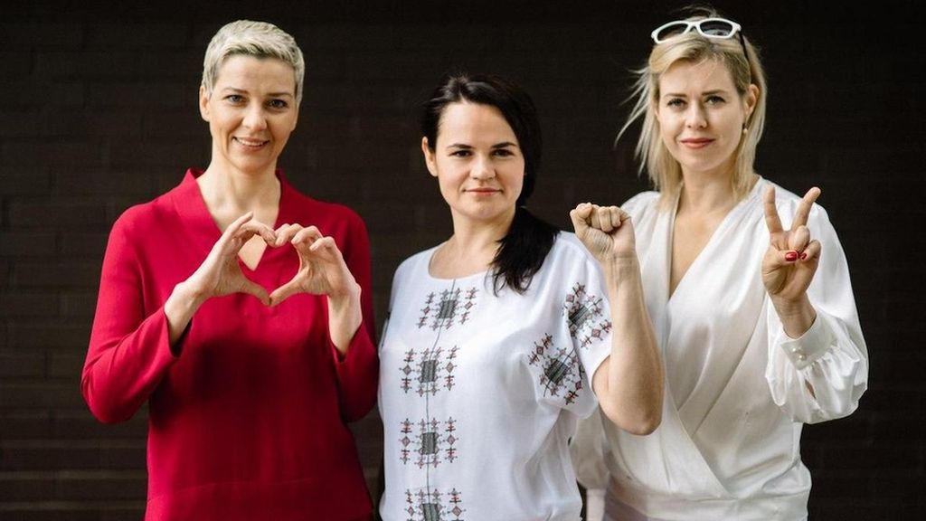 Perjuangan 3 Perempuan Melawan Presiden Berkuasa Belarus dalam Pemilu