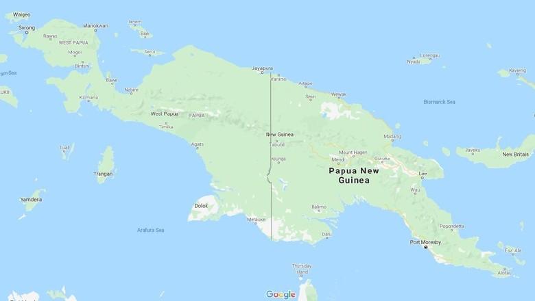 Ilustrasi Pulau Papua