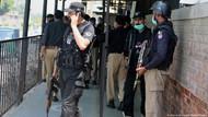 Terdakwa Penistaan Agama Ditembak Mati di Pengadilan Pakistan