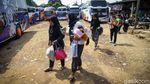 Sepinya Arus Mudik Idul Adha di Terminal Pasar Lembang