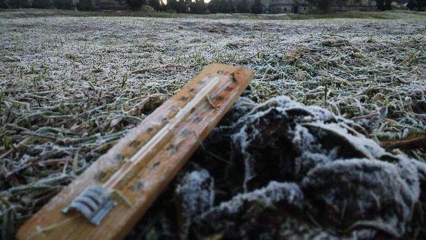 Suhu udara di Dieng turun lagi hingga minus 4, Jumat (31/7/2020).