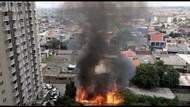 Bangunan Kayu di Pondok Bambu Jaktim Terbakar, 14 Mobil Damkar Dikerahkan