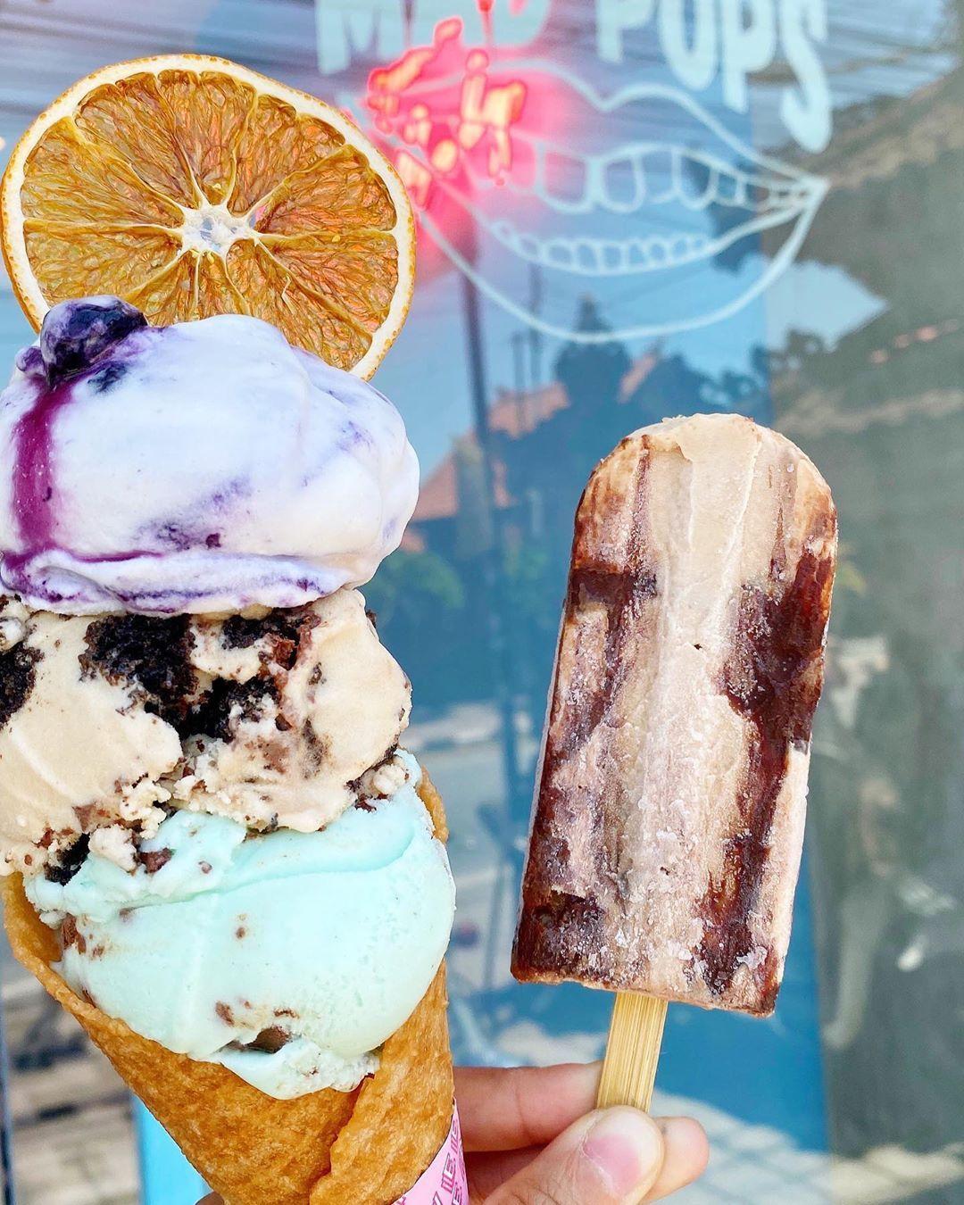 Tempat cicip gelato enak di Bali