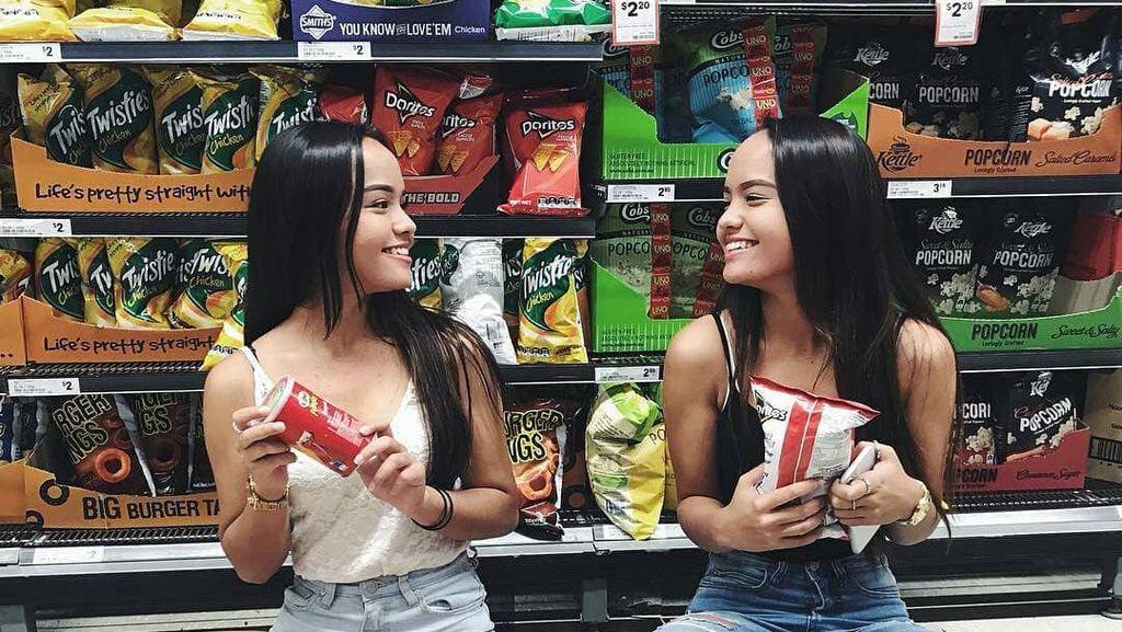 5 Pesona Selebgram Kembar Indonesia, Sama-sama Cantik Bikin Susah Bedain