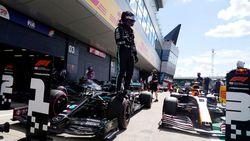 Hasil Kualifikasi F1 GP Inggris: Hamilton Rebut Pole, Mercedes Start 1-2