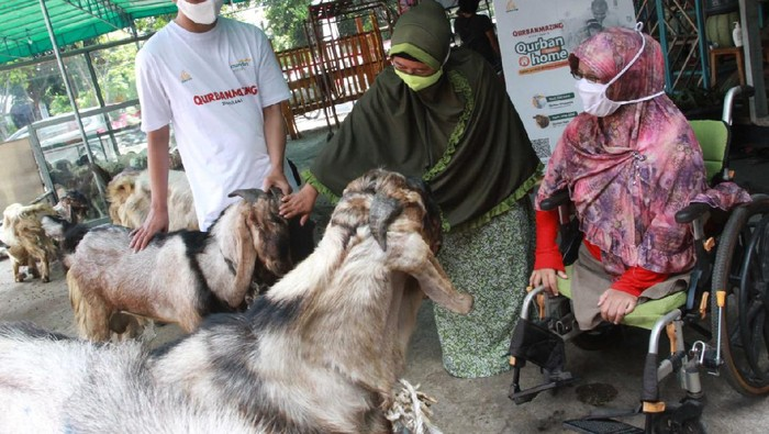 Daging Kurban untuk Penyandang Disabilitas