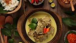 Rayakan Idul Adha, Intip Resep Gulai Kambing ala Resto Michelin Star