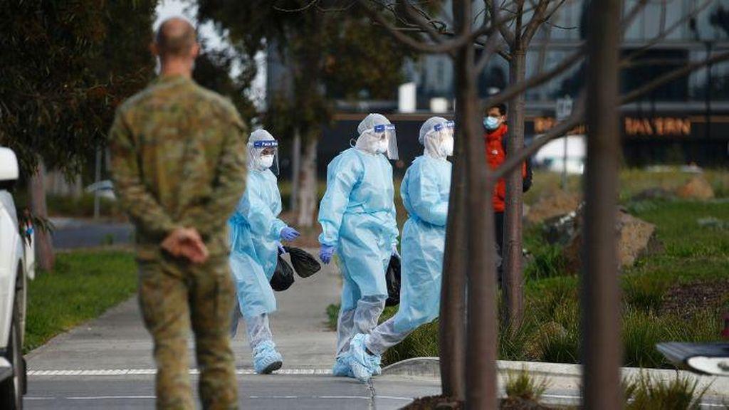 Kasus Corona Melonjak, Melbourne Lockdown dan Tutup Ritel