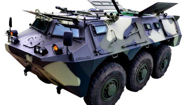 Kendaraan Taktis Anoa 6x6 Mortar (Dok. PT. Pindad)