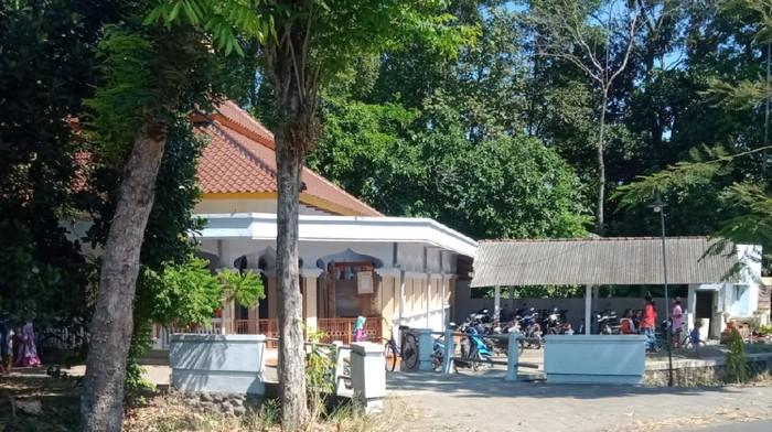 Lokasi masjid TKP pencurian hewan kurban