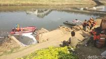 Hilang 24 Jam, Bocah yang Tenggelam di Kanal Banjir Palmerah Masih Dicari