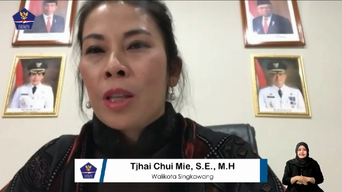 Walikota Singkawang Tjhai Chui Mie