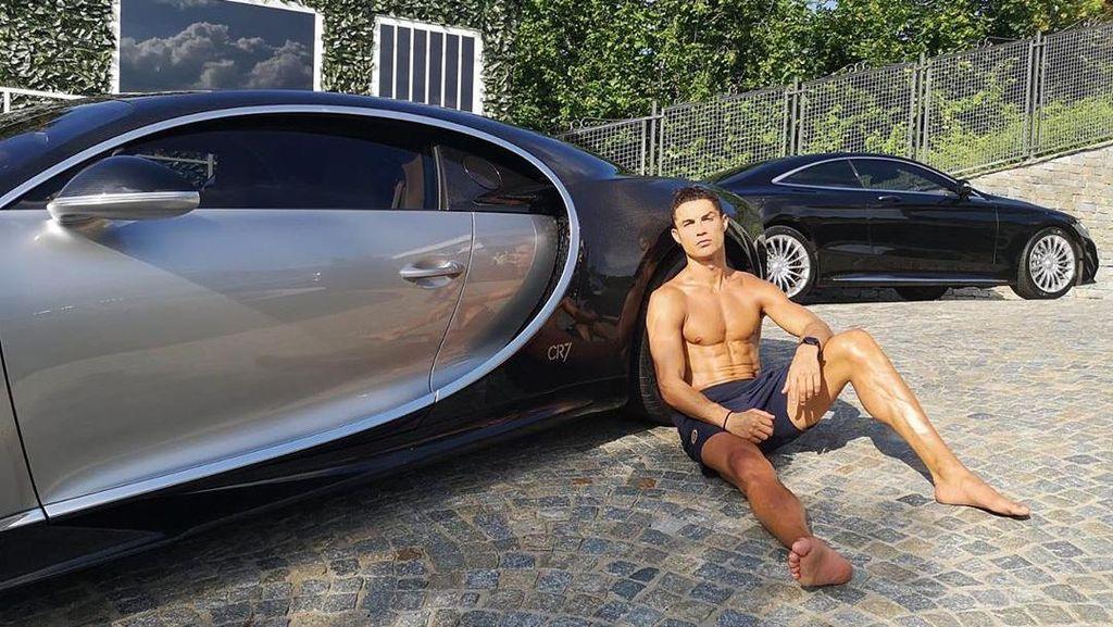 Pilih Mobil Mewah Ini atau Sixpack-nya Cristiano Ronaldo?