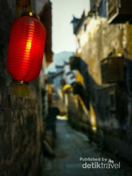 Desa Hongcun di China