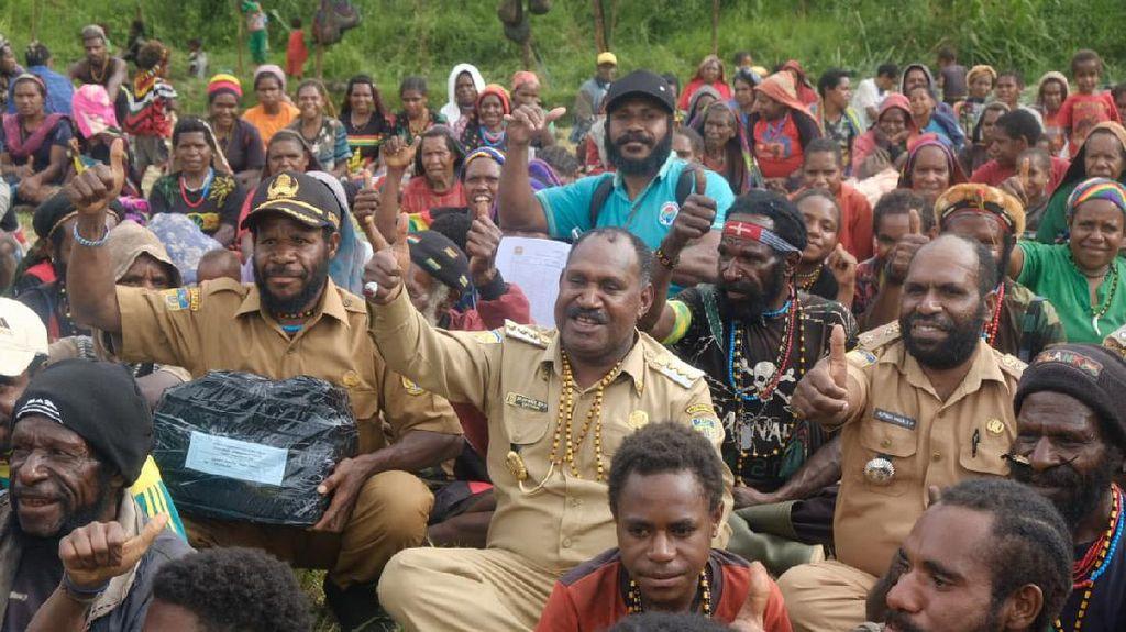 Puncak Papua Terima Dana BLT Rp 91 Miliar