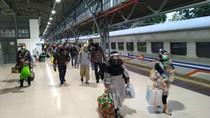 Cerita Pemudik di Stasiun Senen soal Rapid Test hingga Protokol Kesehatan di KA