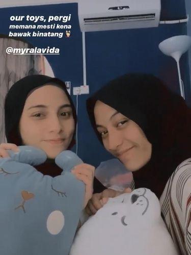 Arfah dan Mira dikira kakak beradik