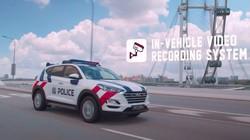 Canggih, Mobil Polisi Singapura Bisa Lacak Mobil Buronan