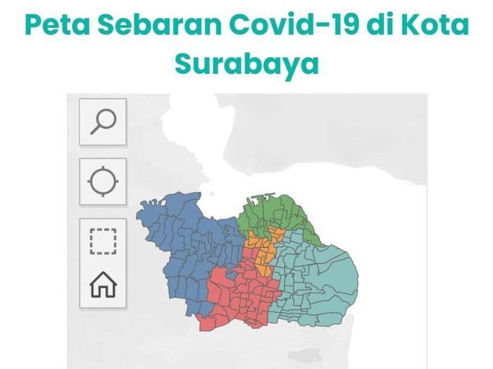Wali Kota Risma menyebut Surabaya sudah zona hijau. Anggota Gugus Kuratif Percepatan Penanganan COVID-19 Jatim, dr Makhyan Jibril menjelaskan, ada 15 indikator yang menentukan suatu daerah masuk zona hijau COVID-19.