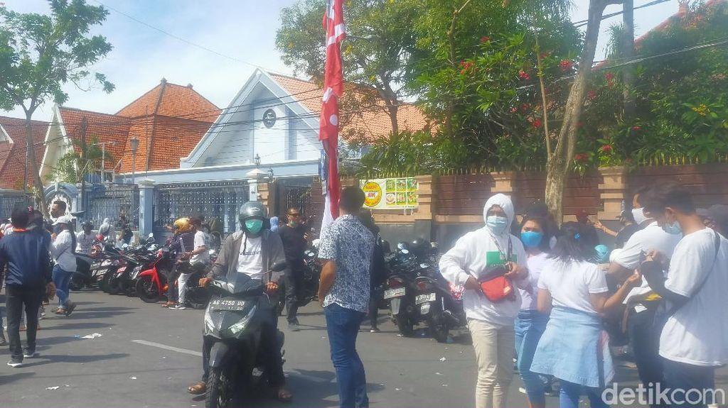 Demo Pekerja Hiburan Malam Bubar Meski Pemkot Surabaya Belum Izinkan RHU Buka
