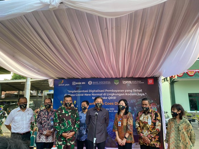 BRI turut mendorong Kodam Goes Digital yang salah satunya adalah digitalisasi pembayaran di lingkungan Kodam Jaya.